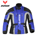 DUHAN Men's Riding Motocycle Touring Clothing Jaqueta Motoqueiro Racing Jacket Windproof Motocross Moto Jacket with Cotton Liner