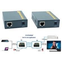 Zy-dt103km HDMI USB KVM ИК по ip-сети Extender 394ft 1080 P HDMI клавиатура Мышь KVM экстензорных 120 м через rj45 cat5e cat6 кабель