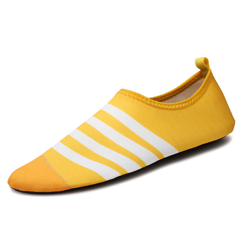 Men Summer Beach Shoes Outdoor Women Water Swimming Shoes Quick-drying Soft Seaside Wading Shoes Size 35-46