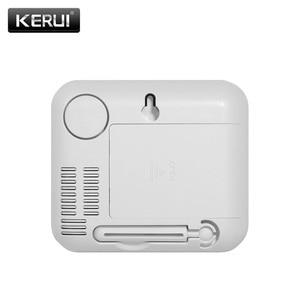 Image 3 - KERUI TD32 LED ekran kablosuz sıcaklık ayarlanabilir alarmlı dedektör sensörü ile uyumlu gsm ev güvenlik alarm sistemi