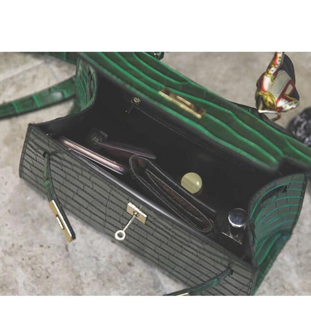 Women's Alligator PU Leather Handbag 5