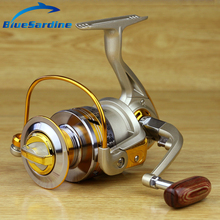 Metal Spool Spinning Reel Fish Salt Water Fishing Reel Carretilha Pesca Wheel 10Ball Bearing 5.5:1