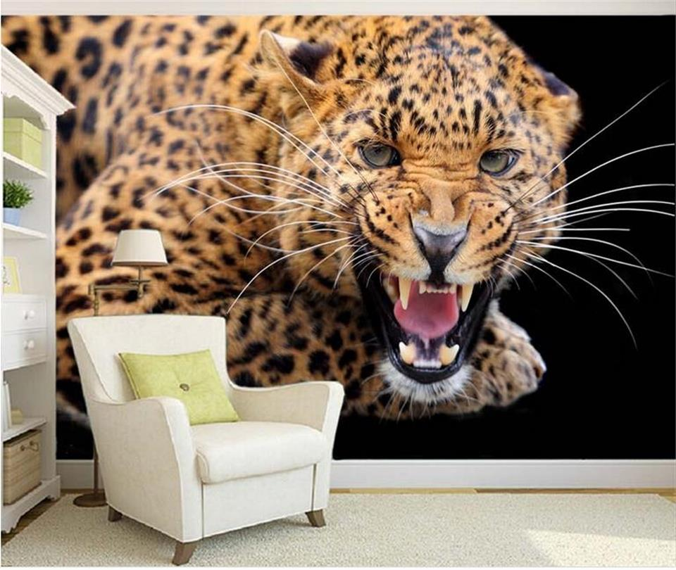 custom mural wallpaper 3d room photo wallpaper leopard cheetah tiger 3d photo painting sofa TV background wall non-woven sticker 3d wallpaper photo wallpaper custom mural kids room super mario world trees painting sofa tv background wall non woven sticker
