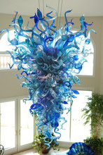 Free Shipping Large Hotel Murano Glass Chinese Chandelier For Sale