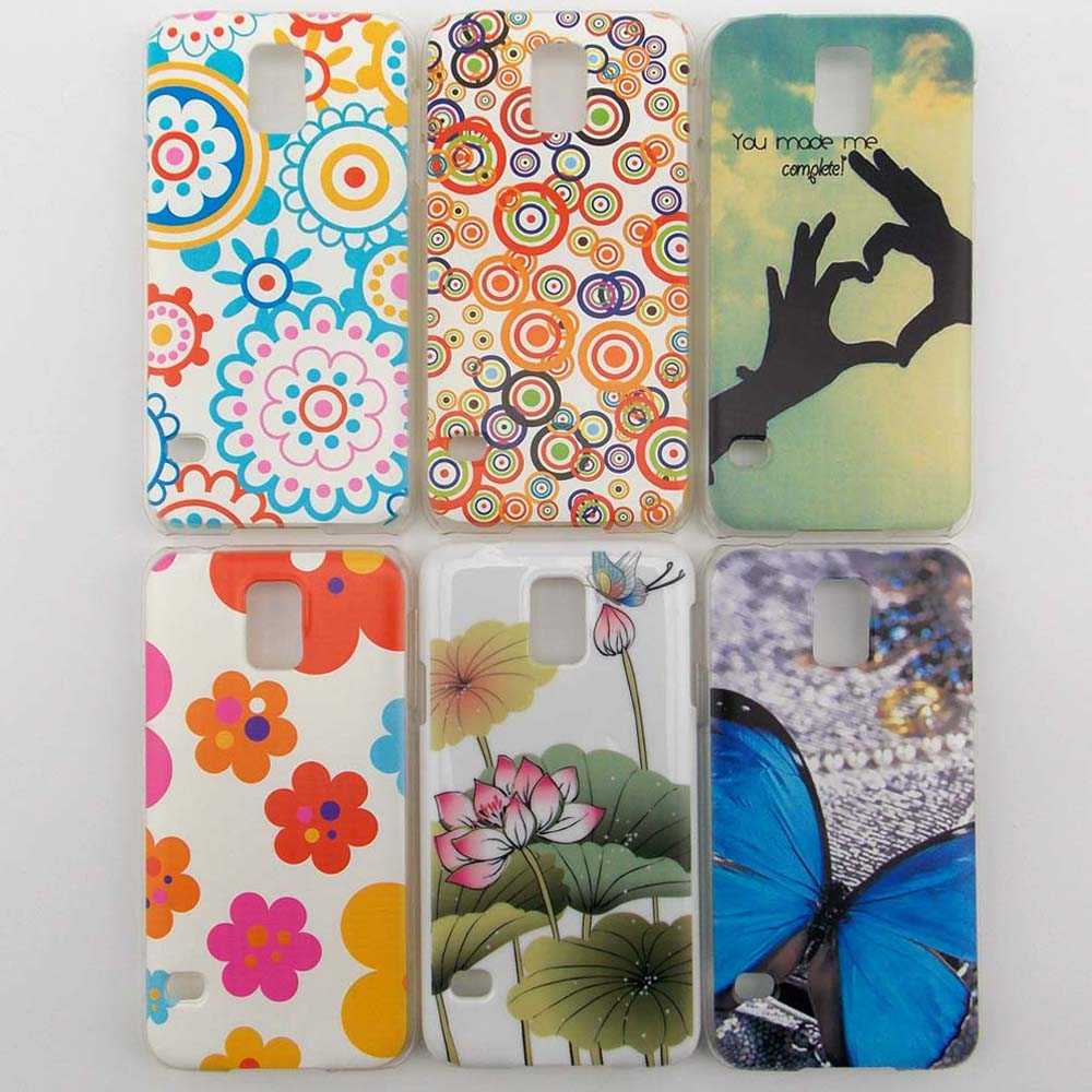 samsung galaxy s5 protective cases for girls. pc hard plastic case for samsung galaxy s5 9600 back cover one piece painted cartoon sweet protective cases girls