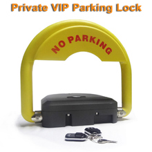 High quality automatic parking lock system Private parking VIP space household new private parking locks garage interceptors parking barriers personal parking lock