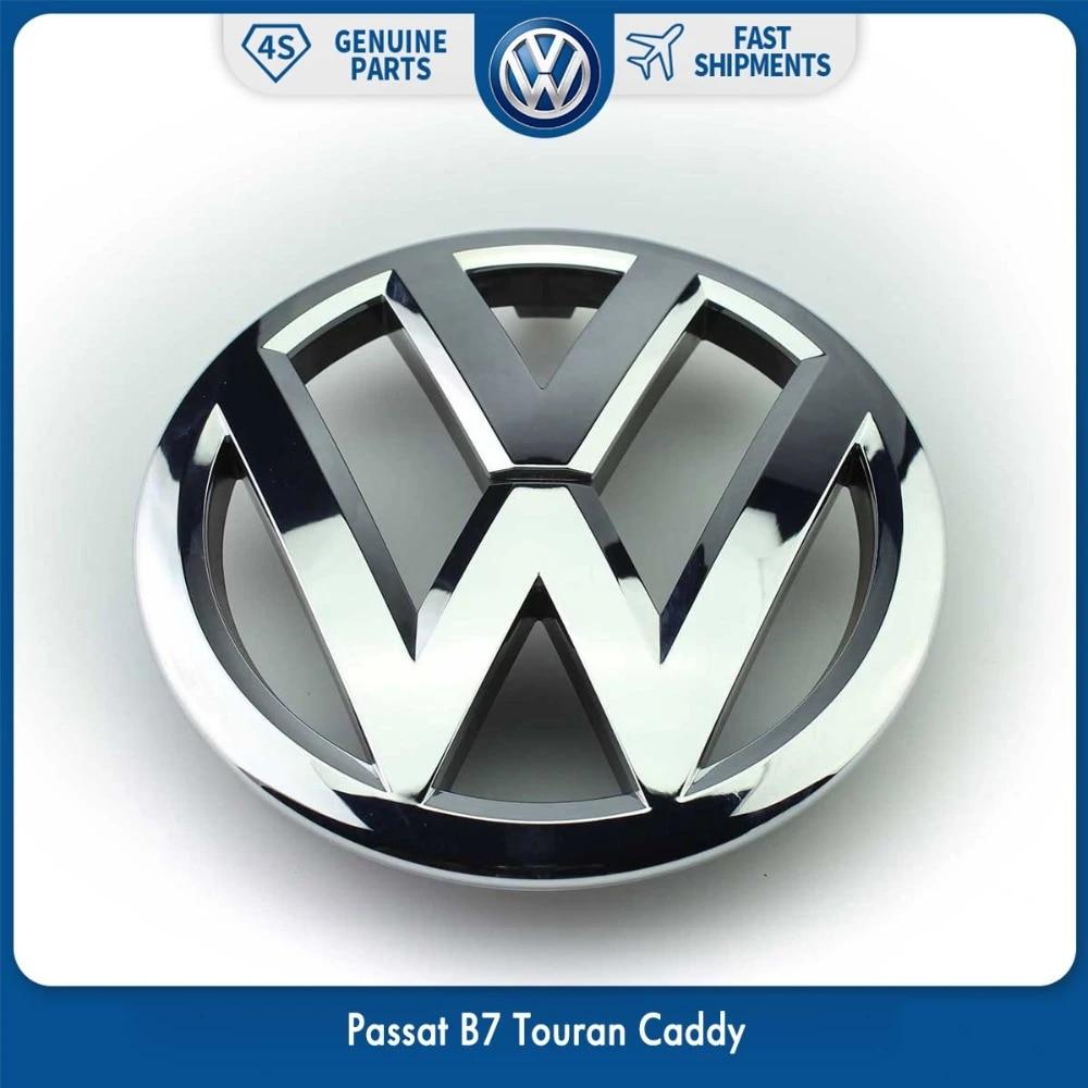 321853601 Genuine VW Front Grill Badge Emblem Chrome Nos