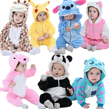 Winter New Born Baby Clothes Romper Baby