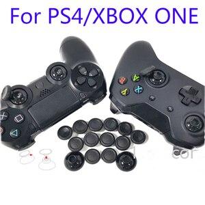Image 5 - 1 で 14 親指スティックジョイスティックキャップ用パッキンで PS4 コントローラーブラック用 XBOX ONE アナログージョイスティックグリップケースキャップ