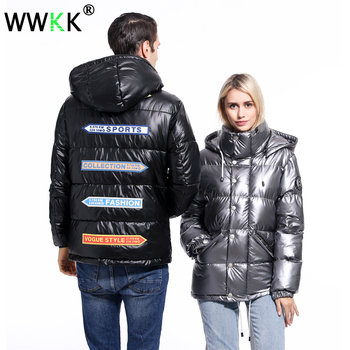 WWKK 2019 New Arrival Parkas for Men Jacket Winter Male Windproof Warm Mens Overcoat Black Thick Outwear for Teen Hooded Parka