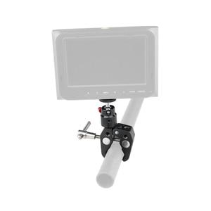 Image 5 - Crab Pliers Clip Super Clamp For DSLR Rig DJI Ronin M LCD Monitor Studio Light Magic Arm Camera+360 Swivel 1/4 Ball Head C1414
