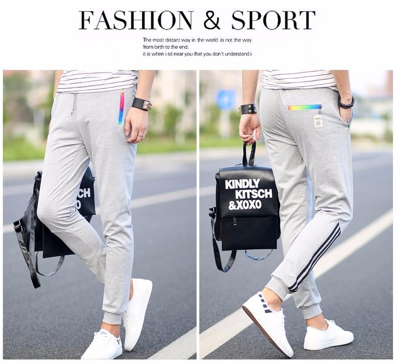 Men's Sportwear Hip Hop Cotton Sweatpants