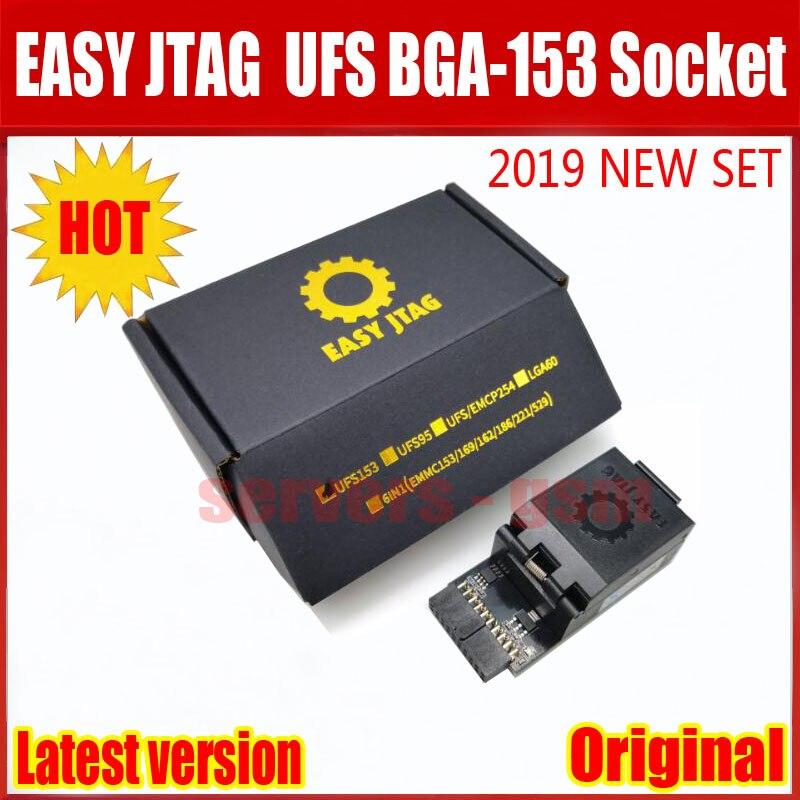 2019 Newest ORIGINAL Easy Jtag Plus UFS BGA 153 Socket Adapter with EASY JTAG PLUS BOX