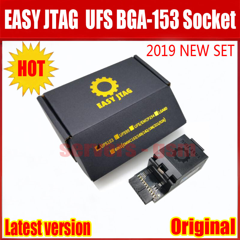 2019 Newest ORIGINAL Easy-Jtag Plus UFS BGA-153 Socket Adapter with EASY JTAG PLUS BOX work2019 Newest ORIGINAL Easy-Jtag Plus UFS BGA-153 Socket Adapter with EASY JTAG PLUS BOX work