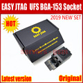 2019 Nieuwste ORIGINELE Easy-Jtag Plus UFS BGA-153 Socket Adapter met GEMAKKELIJK JTAG PLUS DOOS werk