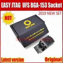 2020 yeni orijinal kolay Jtag artı UFS BGA 153 soket adaptörü ile kolay JTAG artı kutusu iş