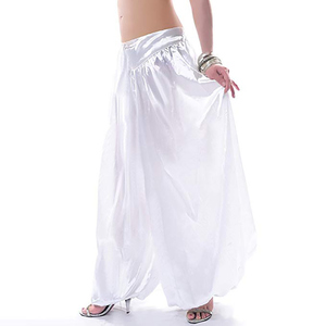 Image 4 - Hot sale ATS Tribal Belly dance Pants New Fashion Costume bellydance pants Bellydancing satin bloomers Dance Pantaloons 9002