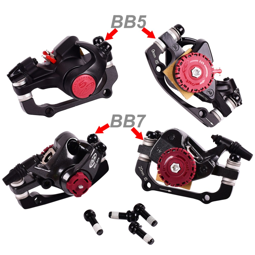 MTB Mechanical Front Rear Disc Brake Calliper For Mountain Road Bicycle Bike New