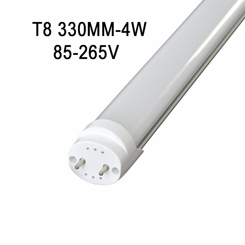 1ft 330mm <font><b>T8</b></font> <font><b>LED</b></font> Tube Light G13 Frosted 4W <font><b>T8</b></font> Oval Shape <font><b>LED</b></font> <font><b>Lamps</b></font> 85-265V 6000K Ballast bypass image