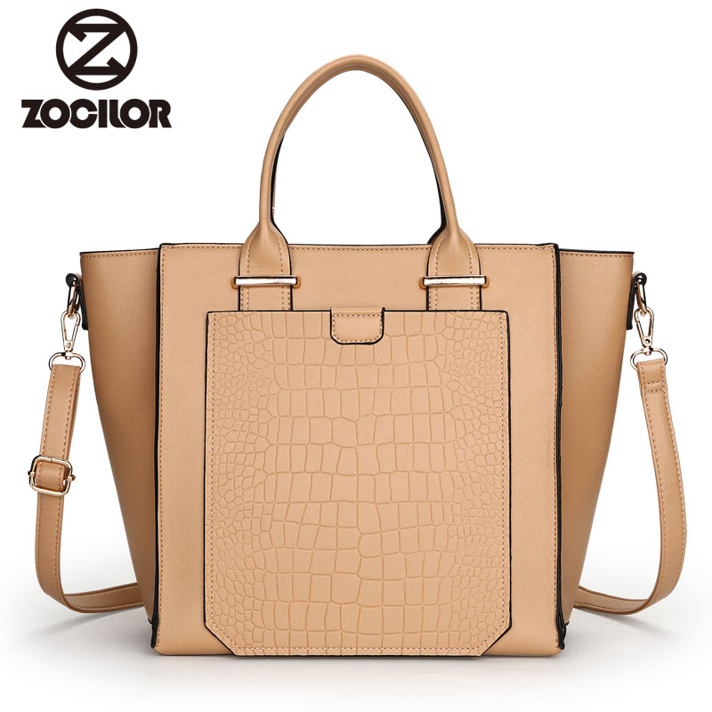 New Women Bag Luxury alligator PU Leather women Handbags High Quality Famous Designer Handbag Female Shoulder Bags sac a main luxury handbags women bags designer brand famous scrub ladies shoulder bag velvet bag female 2017 sac a main tote