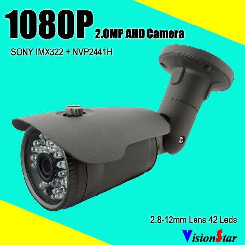 "CCTV 1//3/"" 1080P 2.0 MP AHD Dome Camera Sony IMX322+NVP2441H Security AHD Camera"