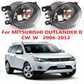 Для mitsubishi OUTLANDER 2 2006-2012 Противотуманные Фары Галогенные автомобилей стайлинг MN182284 ПРОТИВОТУМАННЫЕ фары