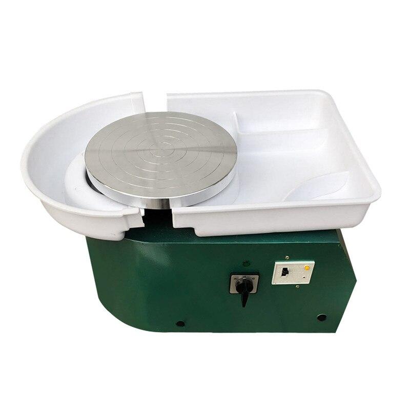 350 W Tours électriques poterie roue Machine pour céramique travail Art céramique argile pied pédale pour céramique travail 110 V/220 V