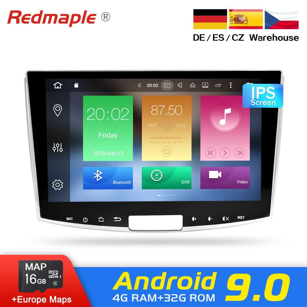 4G RAM Android 9.0 Rádio Do Carro GPS B6 B7 Estéreo Multimídia Para Volkswagen Passat CC Magotan 2012-2015 WI-FI de Navegação Dvd