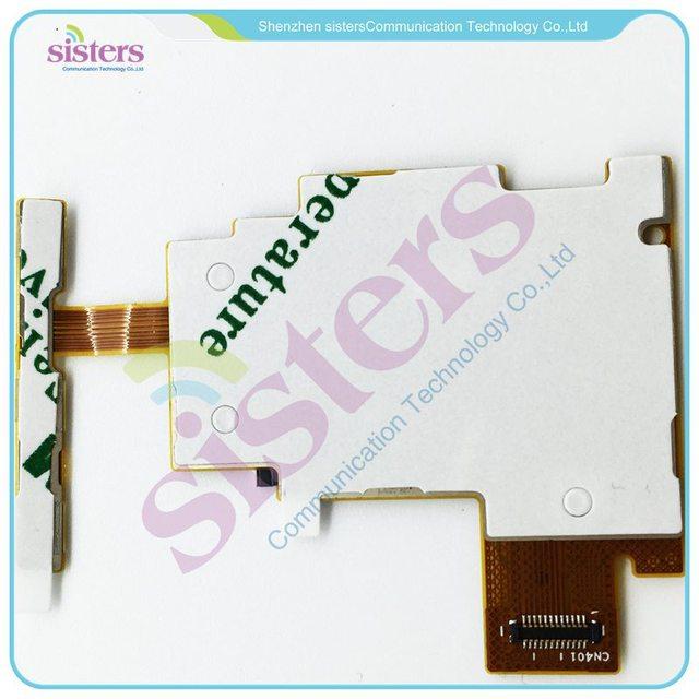 Lecteur SIM en gros + lecteur de carte mémoire puissance + volume bouton câble flexible pour Sony Xperia J ST26i ST26a ST26 livraison gratuite