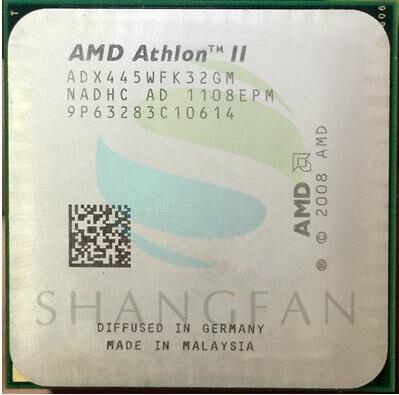 AMD Athlon II X3 445 3.1 GHz Triple-Core Processador CPU Soquete ADX445WFK32GM AM3 938pin