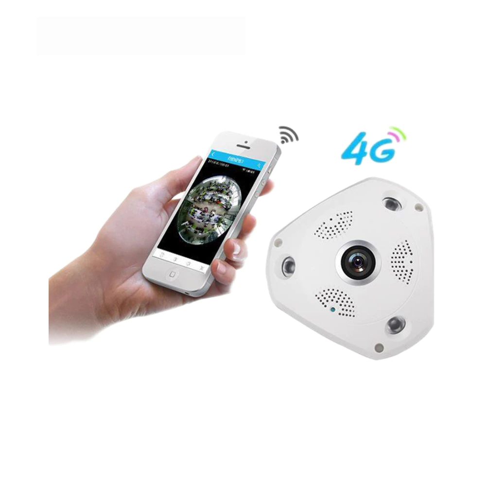 3G/4G Wireless 360 Degree Panoramic Mobile IP Camera with 3MP Alarm VR Camera Surveillance Used as WIFI Hotspots Free APP Alarm jo kang