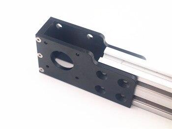 Funssor 4mm 두께 he3d/tarantula/anet a2 프린터 업그레이드 알루미늄 y 축 스테퍼 모터 장착 키트