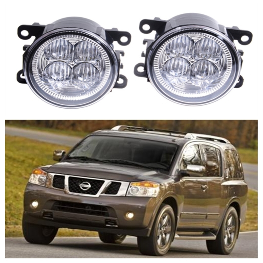 For nissan armada closed off road vehicle 2003 2015 10w high power lens set