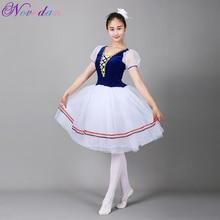 Giselle Ballet Tutu Lungo il Lago Dei Cigni Balletto Costume Adulti Delle Donne Professionali Vestito Romantico Ballerina Bambini I Bambini Dancewear