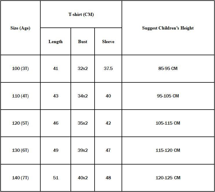 aliexpress size chart
