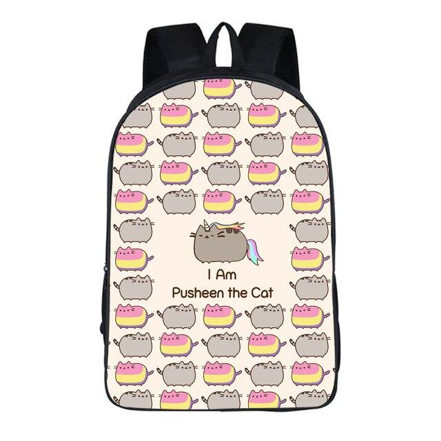 e596cd9be4 Hot-Sale-Pusheen-Cat-Bags-Big-Capacity-Backpacks -For-Teenagers-Boy-Girls-School-Backpacks-Kids-Schoolbag.jpg_640x640.jpg