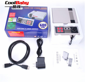 30pcs RS-39 Retro Family HDMI Mini TV Game Console Video Classic Handheld Game Players Built-in 600 Games Dual Gamepad Controls