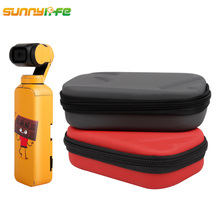цены Sunnylife DJI OSMO POCKE Accessories Handbag Portable Bag Carrying Box Storage Case DJI OSMO POCKET Handheld Gimbal Camera