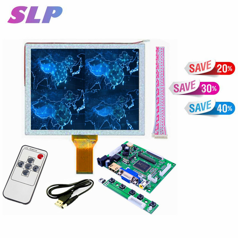 Skylarpu 8 inch AT080TN52 LCD Driver Board with Touch Screen HDMI/VGA/2AV Driver board +touch panel kit for Raspberry PiSkylarpu 8 inch AT080TN52 LCD Driver Board with Touch Screen HDMI/VGA/2AV Driver board +touch panel kit for Raspberry Pi