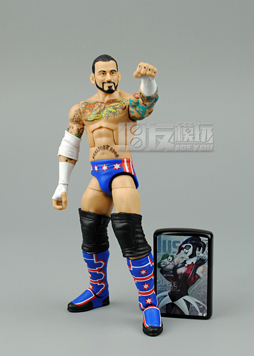 16CM High Quality Classic Toy Super Movable Wrestler occupation wrestling Elite CM Punk Fighter action figure Toys