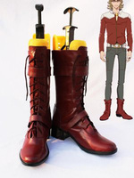 Tiger & Bunny Barnaby Brooks Cosplay Boots Shoes Anime Party Cosplay Boots Custom Made Men Shoes