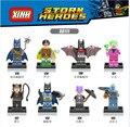 Pirata 80PCSx0111 Super Heroes Batman Beyond Señor Congelación Joker Robin Compatible ladrillo Juguetes