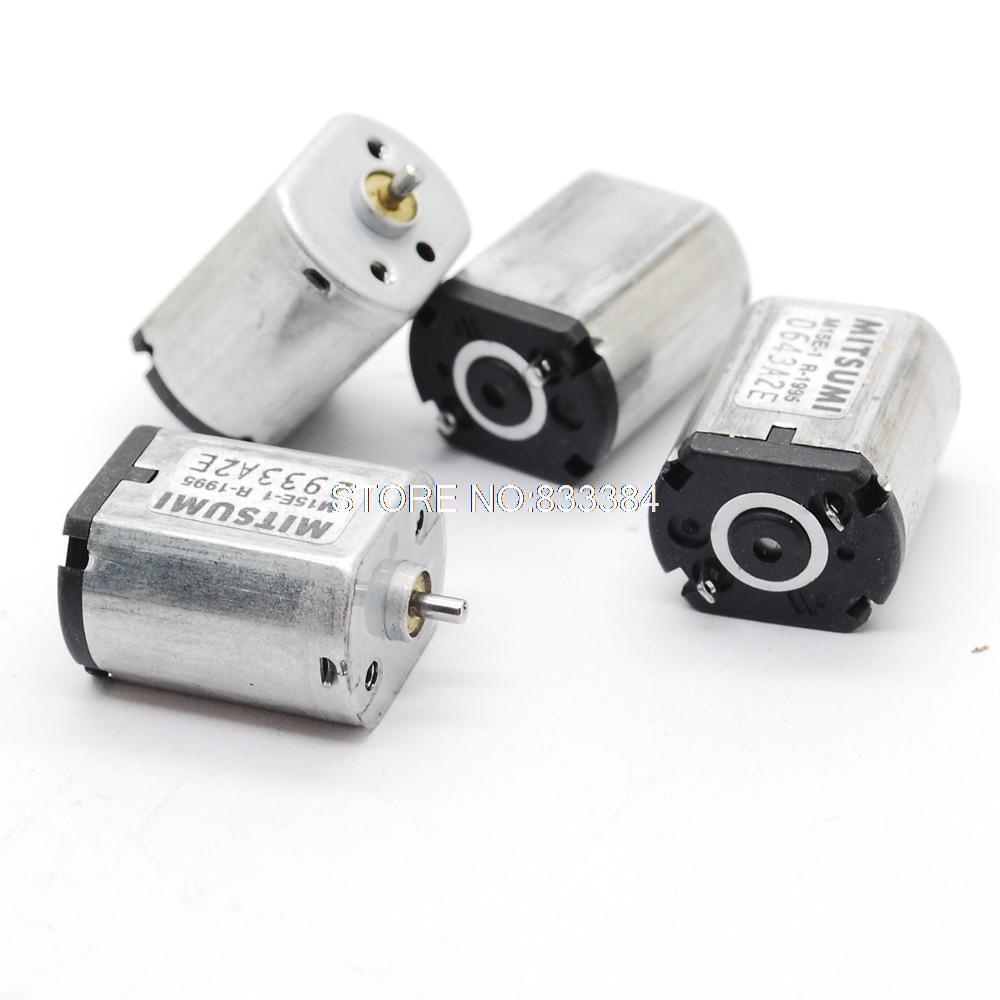 5 шт. Mitsumi 030 микродвигатель постоянного тока 030 насос двигателя с диагональю экрана 3-6 V микродвигатель постоянного тока