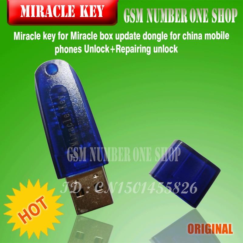 US $123 5  gsmjustoncct Original Miracle box +Miracle key with cables (  v2 48 hot update ) for china mobile phones Unlock+Repairing unlock-in Fiber