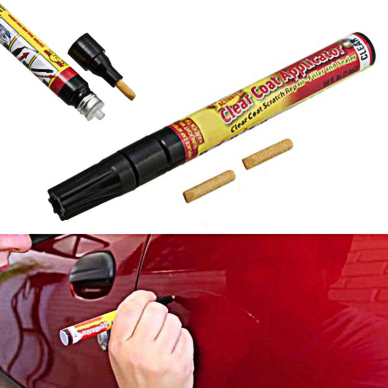 6pcs Universal Car Paint Pen Non-toxic Coat Scratch Repair Remover Applicator F-Best