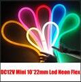 10 metros/lote Mini 12 V led neon para solução de iluminação DIY, shopping iluminação shopping decoração neon.