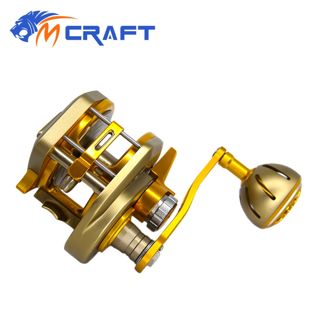 Jigging Reel Automatic Line Guide Saltwater Boat  Fishing Slow and fast CNC Aluminium Full Metal 6.31 13+2BB