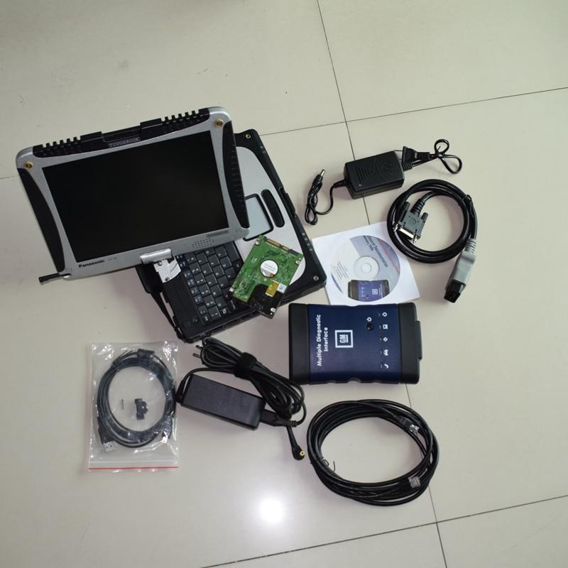 Auto Outil De Diagnostic WIFI MDI Multiple Diagnostic Interface MDI avec CF-19 de Haute Qualité Ordinateur Portable Logiciel Installé Bien