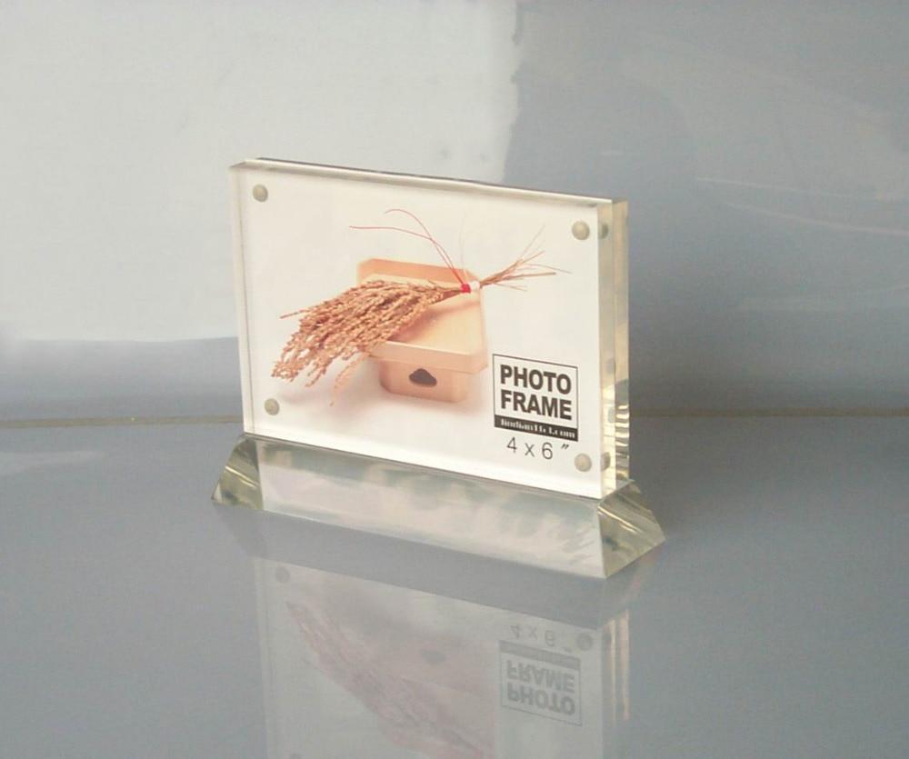 Állandó átlátszó akril mágneses képkeret Esküvői vagy - Lakberendezés