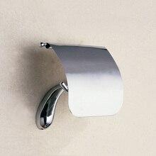 Chrome Toilet  Roll Holder Vintage Brass Wall Mounted High Grade Hanger Decorative Toilet Paper Holder for Bathroom & Kitchen